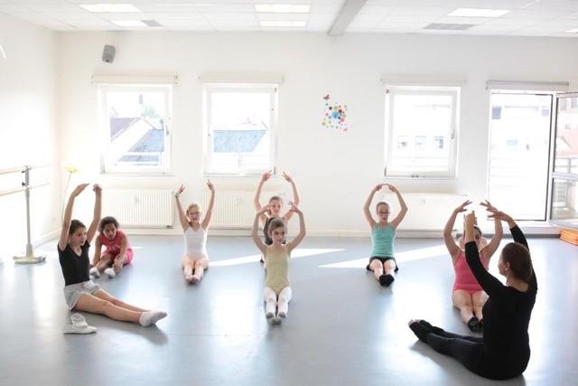 Wir tanzen wieder in der Ballettschule