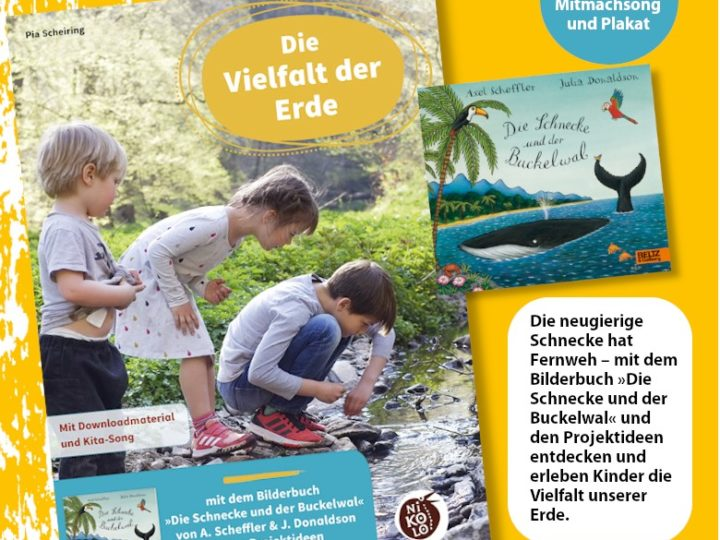 """""""Die Schnecke und der Buckelwal""""     Pia als Autorin bei Beltz"""